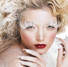 Witte make-up - Girlscene