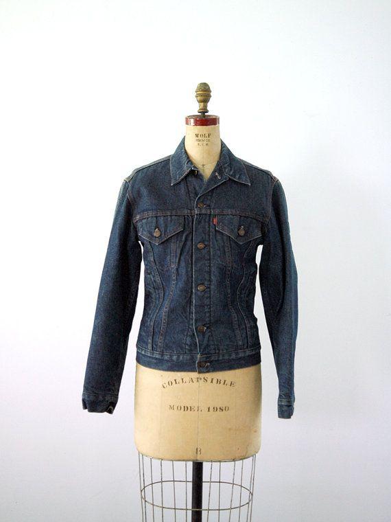 1970s Levis Denim Jacket / Flannel Lined Jean by 86Vintage86, $148.00