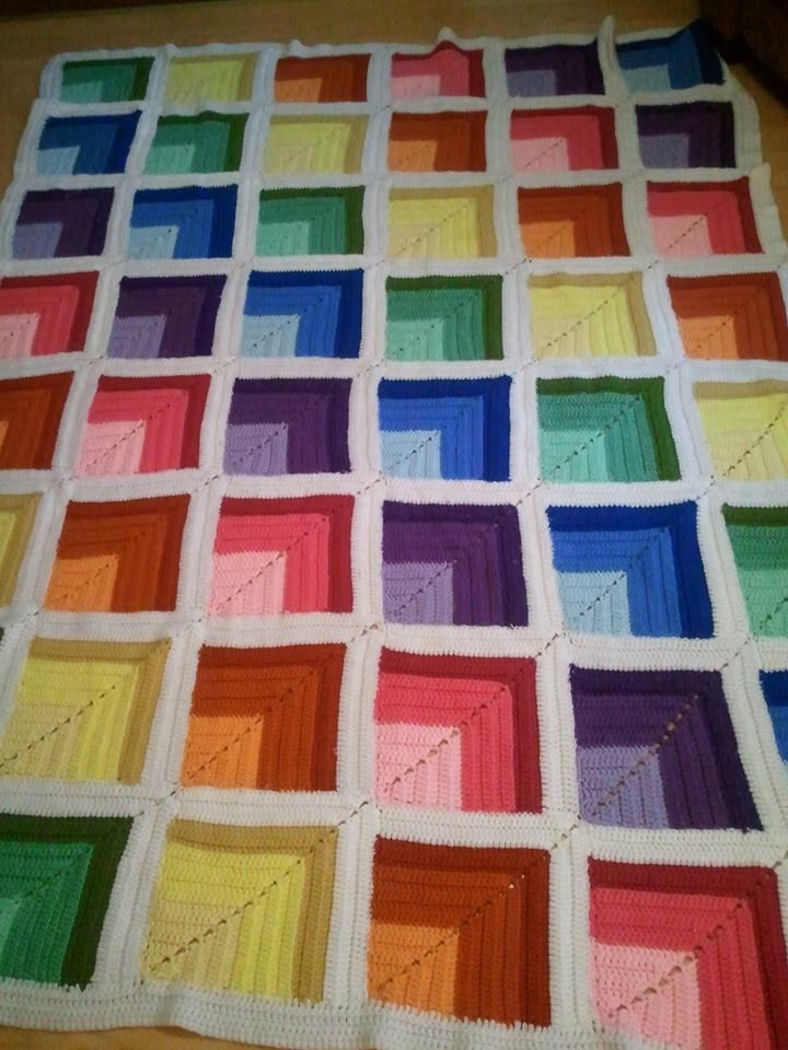 1000+ ideas about Crochet Quilt on Pinterest Crochet ...