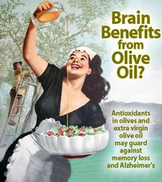 Beyond cardiovascular health, the rare tyrosol compounds in olives and extra virgin olive oil also appear to benefit the brain.