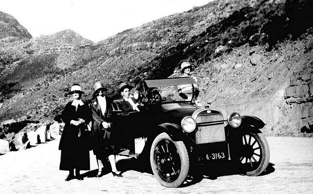 Chapman's Peak Drive in 1923 | Flickr - Photo Sharing!