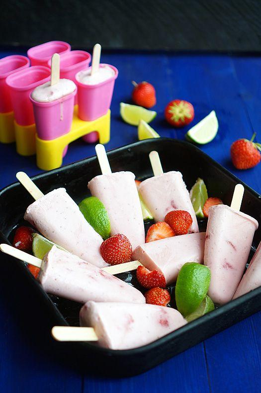 Клубничное мороженое, пошаговый рецепт с фото