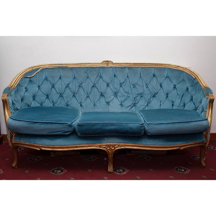 vintage victorian french style sofa before going in my need a fabric thatu0027s dark and cat proof