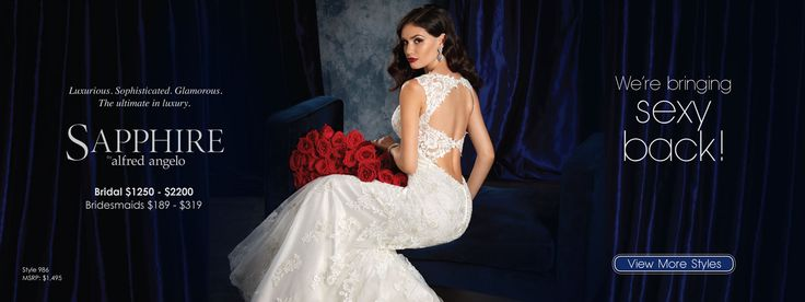 Sapphire by Alfred Angelo Style 986