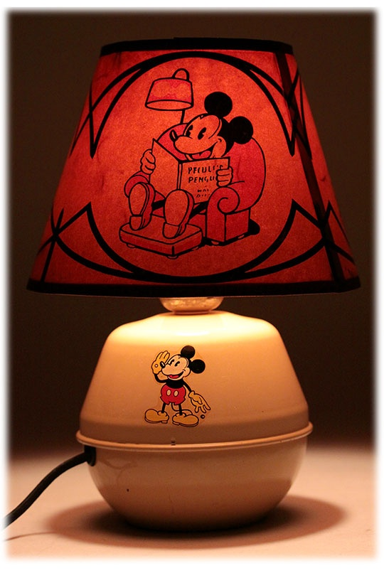 Soreng-Manegold Mickey Mouse Lamp (1930's)