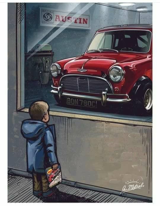 но это Mini Cooper роскошные автомобили Mini Cooper Classic