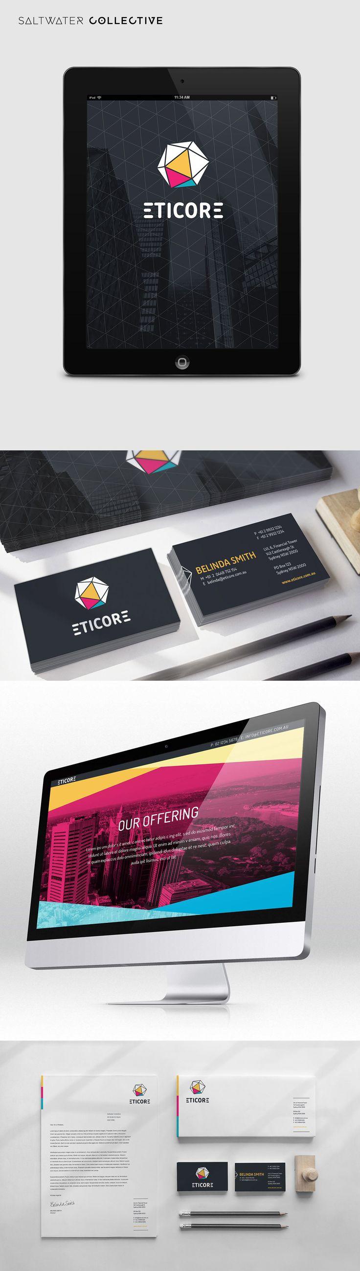 Eticore brand and website - #DesignedBySWC