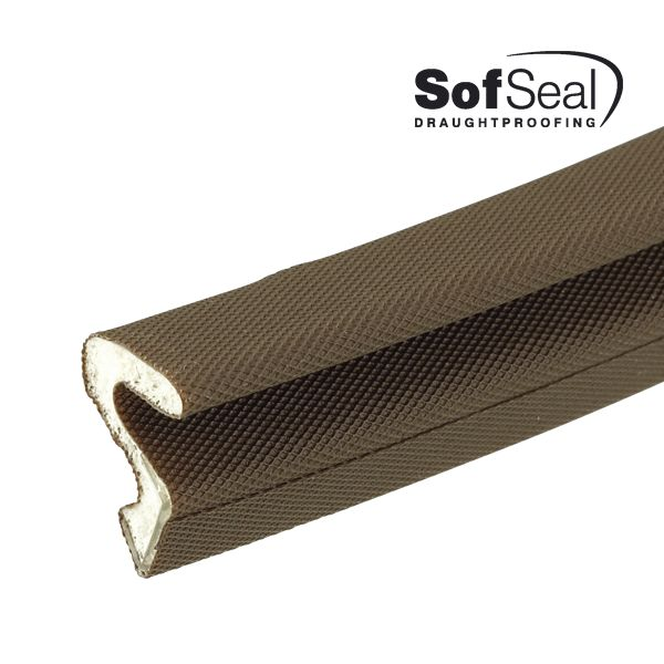 Reddiseals Sofseal Flipper Seal boasts a polyurethane Inner Foam Core; providing excellent insulation, exceptional compression over extended temperature range, excellent deflection and high memory, boasting an 80% recovery rate.   http://www.reddiseals.com/product/sofseal-flipper-seal/