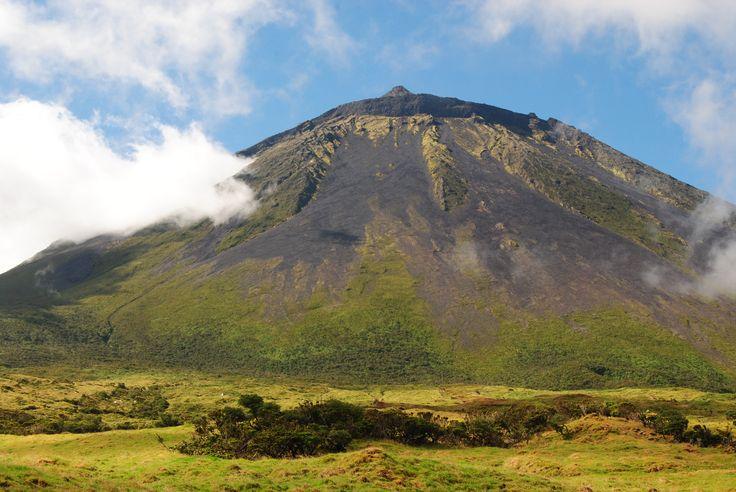 Pico do Pico na Ilha do PIco