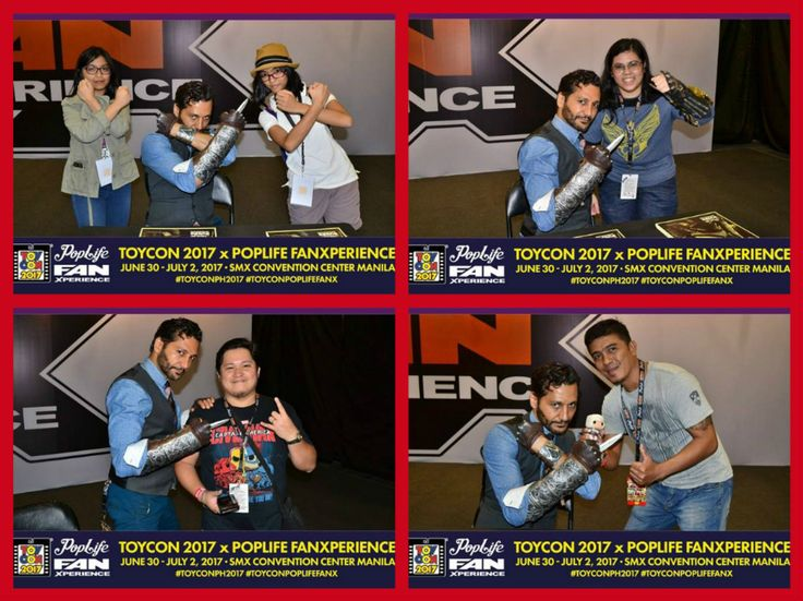 When yourself do meet Cas Anvar in person one incredible experience. These fans had grand time to get their personal autograph and photo with Master Altair. Take a look on the rest of Toycon Pop Life FANX - celebrity photo op Day 2.