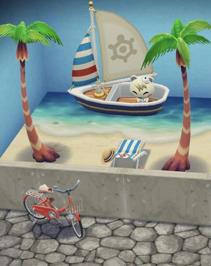Beach Boardwalk Acpocketcamp Animal Crossing Animal