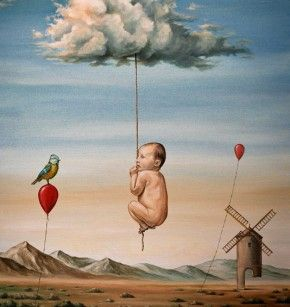 """""""Childhood Memories"""". Svetoslav Roerich.    Veredas da Língua: """"Meus oito anos"""" – Cassiano Ricardo"""