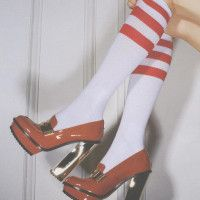For the Love of Shoes   Man Repeller  Christmas shoes? I think so.