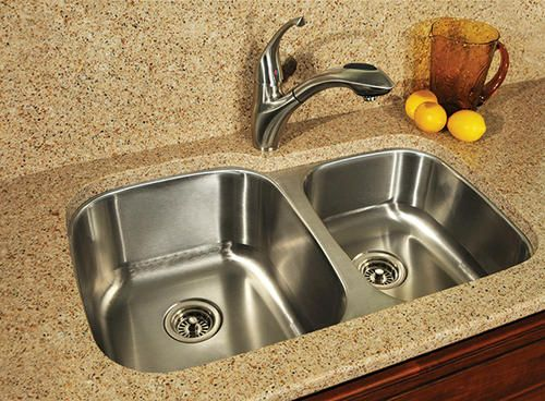 tuscany 60 40 undermount kitchen sink at menards redecorating. beautiful ideas. Home Design Ideas