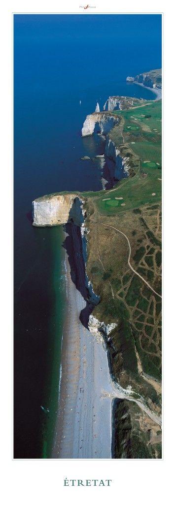 épinglé par ❃❀CM❁✿à partir de plisson. Etretat - Normandie - Régions de France - Thématiques