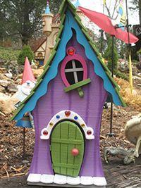 """Fairy House """"Fairy Cottage"""" @whimsicalfairygarden"""
