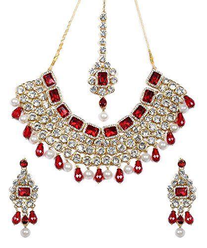 Beautiful Ethnic Indian Bollywood Designer Red White Pear... https://www.amazon.com/dp/B01KBV053O/ref=cm_sw_r_pi_dp_x_pvFuzbBWGXMZN