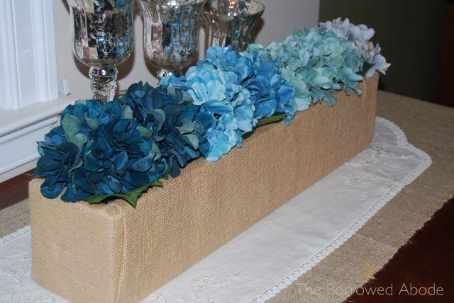 Best blue centerpieces ideas on pinterest