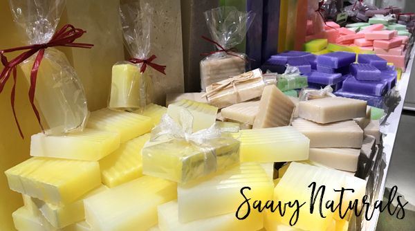 Saavy Naturals Soaps in Atlantic Beach, Florida. Valentine's Day gift ideas from Jacksonville Beach, Florida. Great gifts for people you love! #shopjax #shopjaxbeach