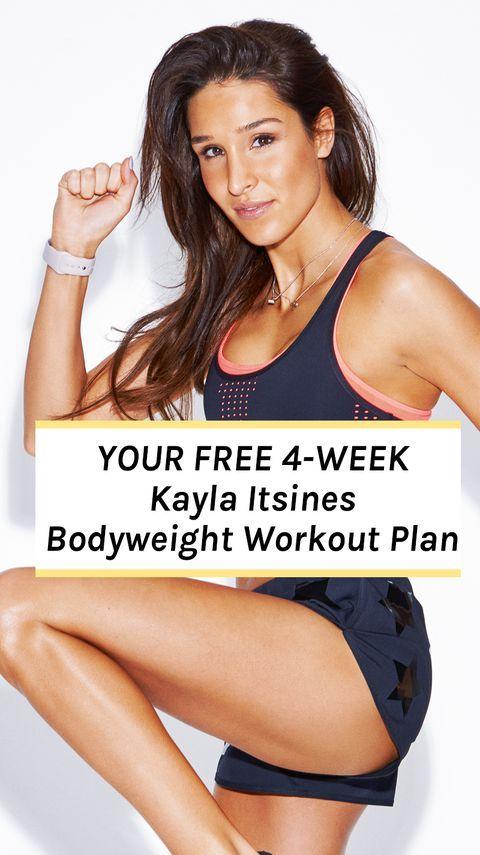 Sweat Queen Kayla Itsines' Free 4-Week Home Workout Plan
