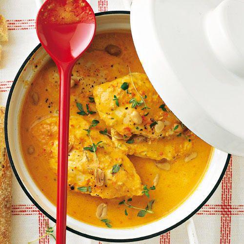 Paprika-Erdnuss-Huhn