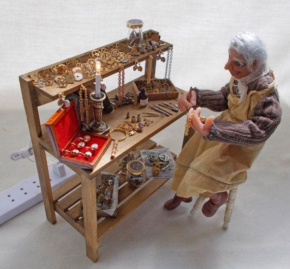 Filled Watch / Clock / Jewellery Makers door ValHarperMiniatures