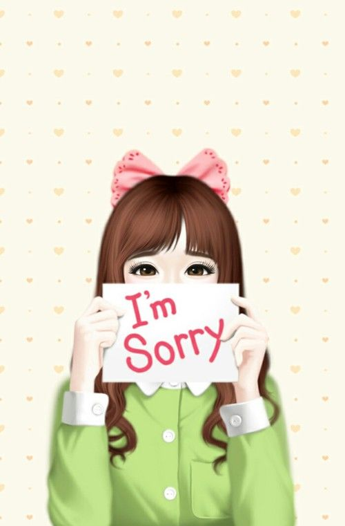 ♔ GIRL I'M SORRY NOTE HEART BACKGROUND SVG SILHOUETTE #CRICUT, #CRICUTEXPLORE