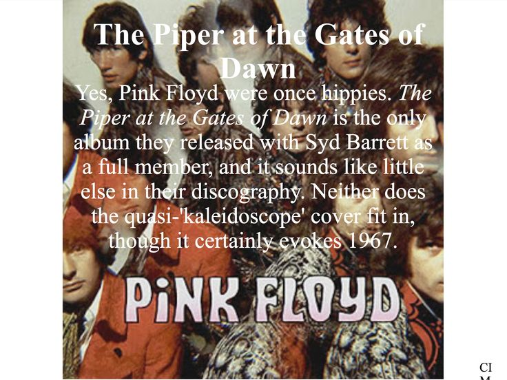 Pink Floyd - The Piper at the Gates of Dawn  Created by CIM