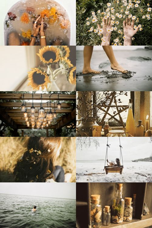summer witch aesthetic (more here)