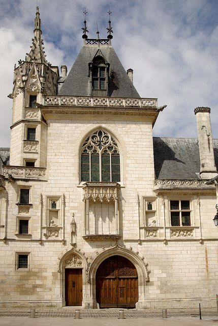 Palais Jacques Coeur, Bourges - France, constructed in the 15th century