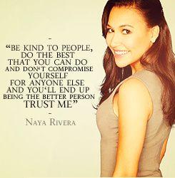 naya rivera quotes - Google Search