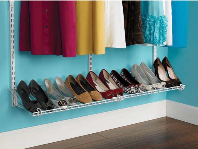 This Year, Get Your Closet Organized With Rubbermaid Home Free Closet  System! Its Adjustable Parts Let You Customize, Reconfigure, Or Expand Your  Closet To ...