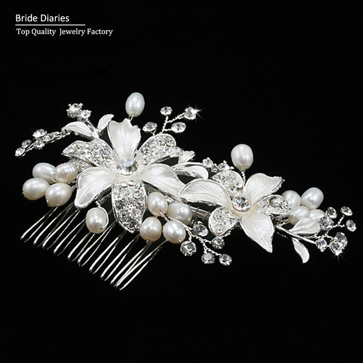 bridal hair comb wedding hair comb Flower Hair Jewelry Beautiful Bridal Accessories hair jewelry wedding Valentine's Day Gift
