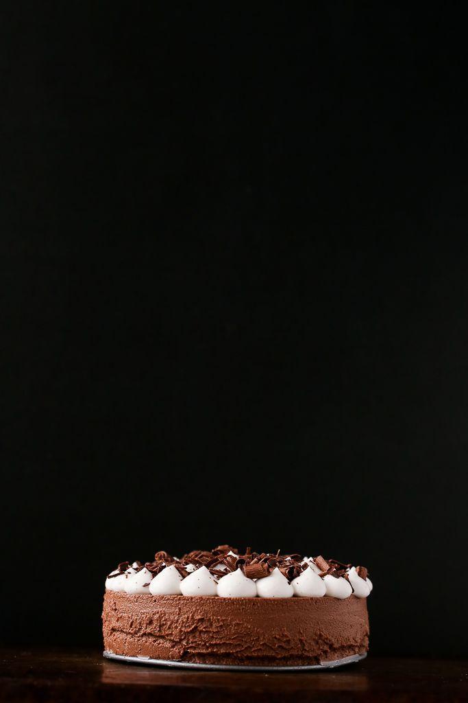 5-Ingredient No-Bake Vegan French Silk Pie