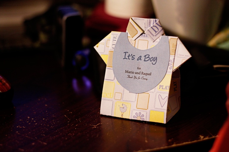 father's day origami tie card