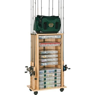 I will be getting this fishing organization cart for my hubby to use in the garage! He might need a couple. :)