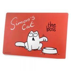 Sottociotola Cult Simon's Cat The Boss! I saldi saranno graditi dal boss? Buon pranzo al Boss della casa con questa tovaglietta cult firmata Simon's Cut! #tovaglietta #sottociotola #rosso #gatto #boss #cult #SimonsCut http://www.principini.it/prodotti/gatti/ciotole-e-sottociotole-per-gatti/sottociotola-cult-simons-cat-boss