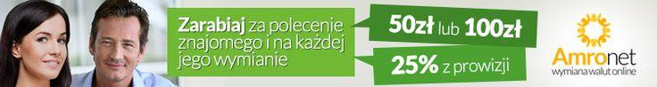 Amronet.pl Zarabiaj na wymianie walut