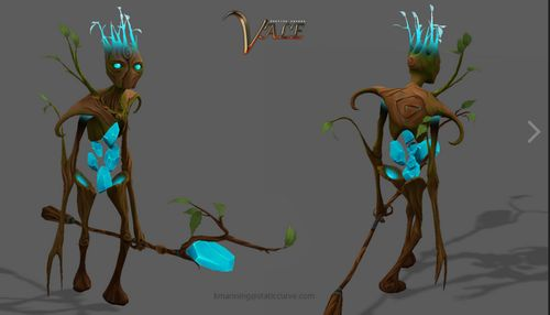 Vale, game models; source - http://lucyod10.tumblr.com/page/2 #3D #Ent #Ents #game #gaming #fantasy