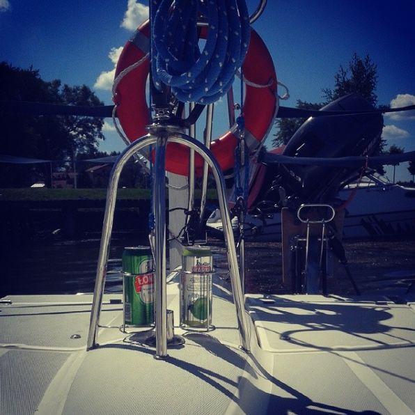 #Boat on #lake at #Mazury