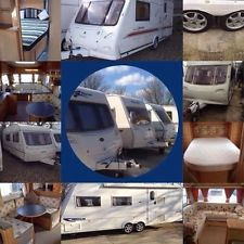 2,3,4,5,6 berths fixed beds, twin axle touring caravans for sale