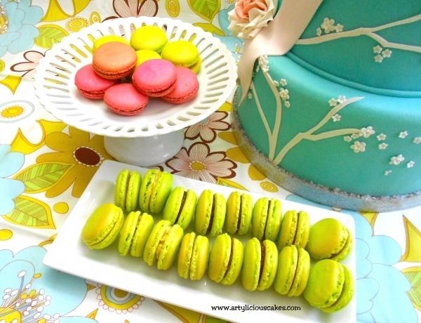 french macarons set