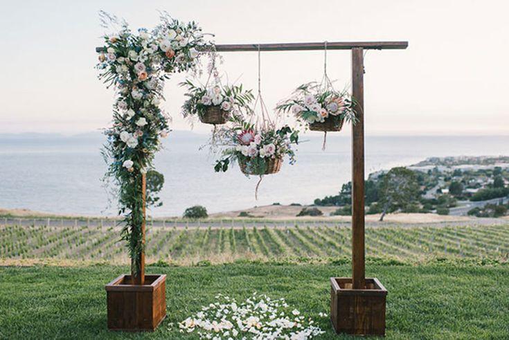 Decoración de ceremonia bodas