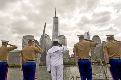 Fleet Week NYC 2016 Happy Memorial Everyone with sincere appreciation for those who have given their lives defending freedom and their families who have lost so much.