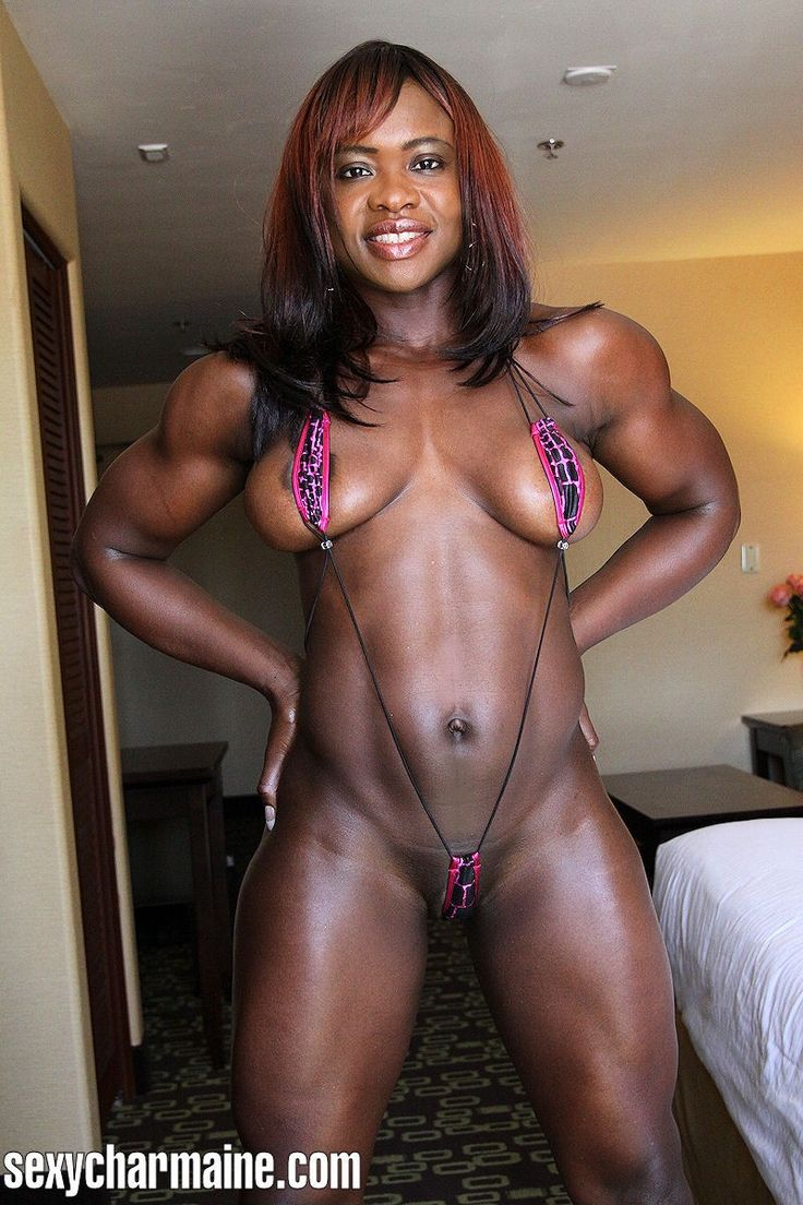 Charmaine Patterson  1  Fitness, Black Fitness, Muscle Girls-4971