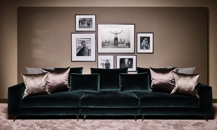 THE BELGRAVES SOFAS & CHAISE LONGUE - Contemporary Sofas & Sectionals - Dering Hall