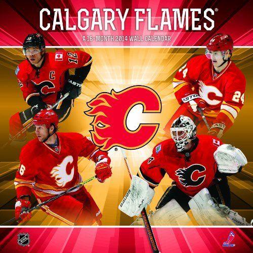 Calgary Flames 2014 Wall Calendar