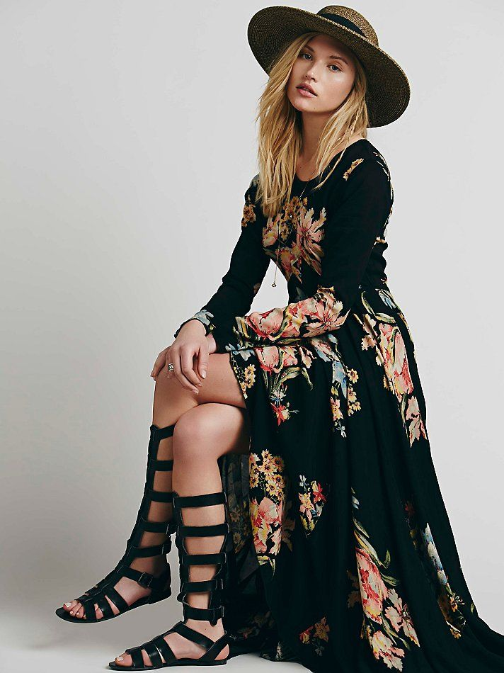 Free People First Kiss Dress at Free People Clothing Boutique love the dress not the shoes