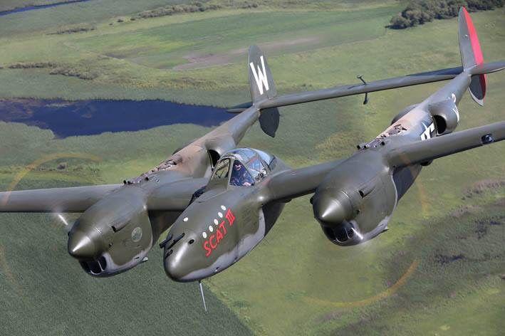 Scat III was Robin Olds third P-38