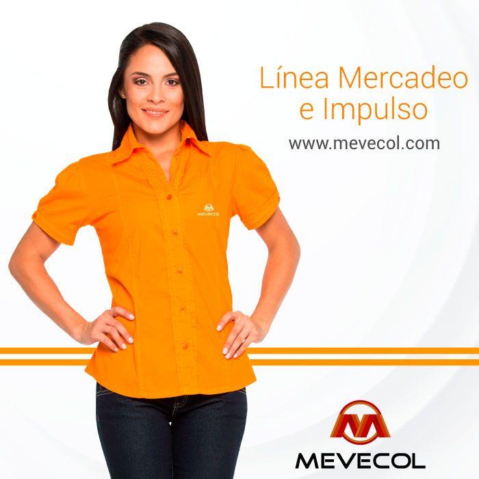 Uniformes cómodos especialmente diseñados para tus colaboradores. Mira nuestras referencias en http://www.mevecol.com/categoria-producto/uniformes-mercadeo-e-impulso/  #Mevecol #Colombia #UniformesMevecol #MevecolUniformes #Mercaderistas #Mercadeo #Impulso #Impulsadores #Promotores #Uniformes #UniformesEmpresariales #EnvíosNacionales